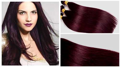 Wholesale russian hair extensions clip in hair extensions ombre weft weave 99j deep plum dark burgundy red pmusecretfo Image collections
