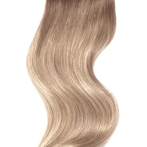 #2/14 BROWN TO SANDY BLONDE WEFT HAIR EXTENSIONS From