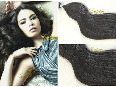 Superior virgin russian textured human hair extensions exclusive 2 virgin medium cool brown virgin weft weave hair extensions pmusecretfo Image collections