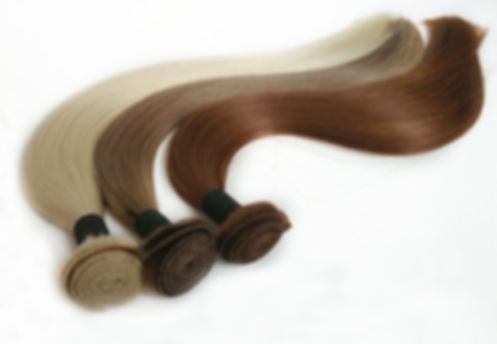 Virgin remy weft hair extensions
