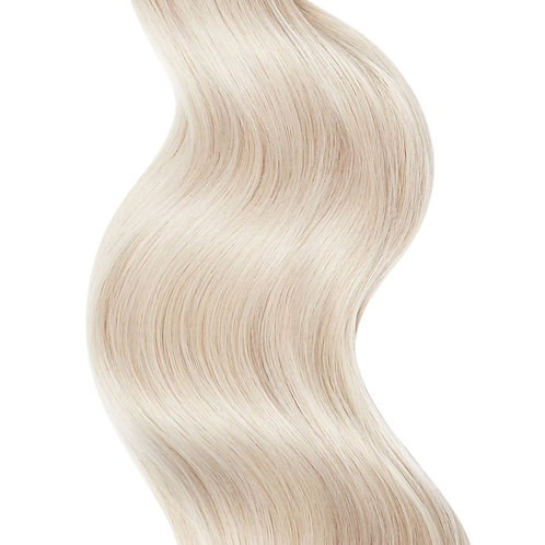 #60 PLATINUM ASH BLONDE TAPE HAIR EXTENSIONS From