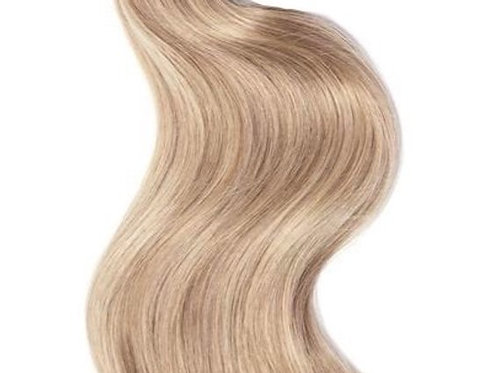 #CHAMPAIGN - BEIGE BLONDE WEFT HAIR EXTENSIONS From