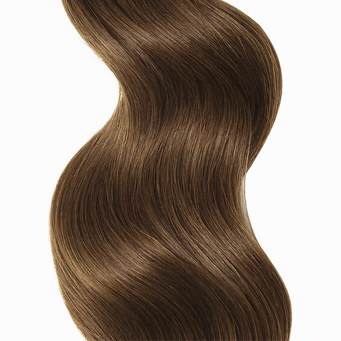 #8 CHESTNUT BROWN TAPE HAIR EXTENSIONS From