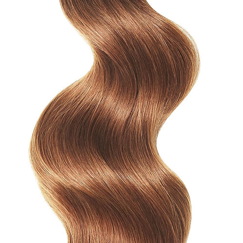 #30 NATURAL RED WEFT HAIR EXTENSIONS From