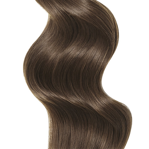 #4 MEDIUM BROWN TAPE HAIR EXTENSIONS From