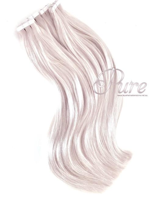 Tape Hair Extensions Creamy Blonde Light Cream Blonde 22