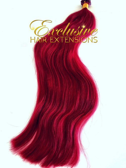 Micro Bead Ruby Fire Bright Red