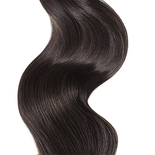 #2 DARK CHOCOLATE BROWN CLIP IN HAIR EXTENSIONS 150 GRAMS From