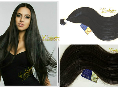 Superior virgin russian textured human hair extensions exclusive 1b darkest brown natural black virgin weft weave hair extensions pmusecretfo Image collections