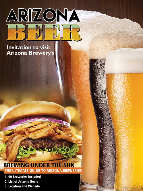 A Must Have Book: Ultimate Guide to Az Breweries