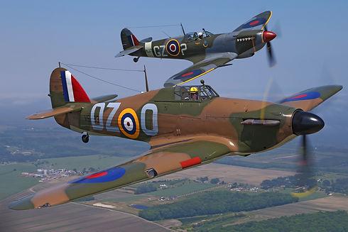 Hurricane and Spitfire Wardbirs 2014  AC