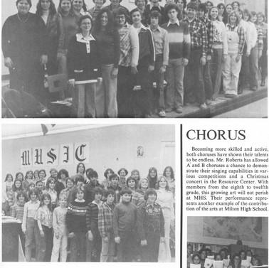 Milton Choirs, 1978