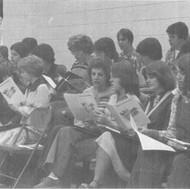 Choir A, 1979