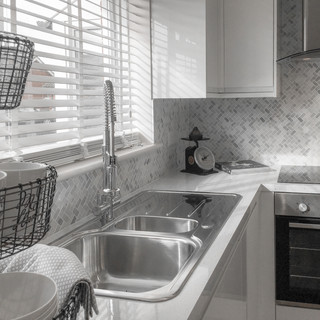 WHITE HIGH GLOSS CABINETS