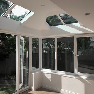 COMPLETED CONSERVATORY