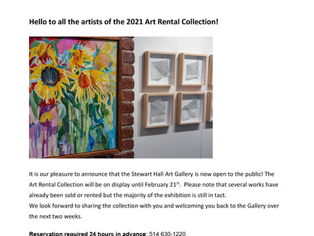 WASM members are exhibiting their art. Check out these galleries.