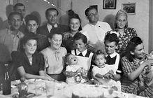 Survivors,their children and nurses Bels