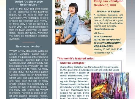 WASM Newsletter for October 5, 2020
