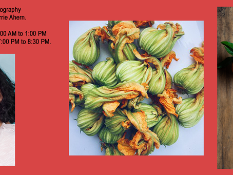 Fellow WASM member, Diana Bruno, invites you to participate in a Food Photography workshop.