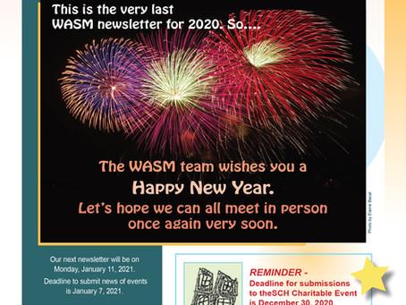 WASM Newsletter for December 28, 2020