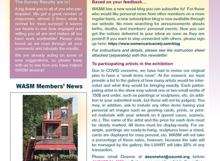 WASM Newsletter for August 10, 2020