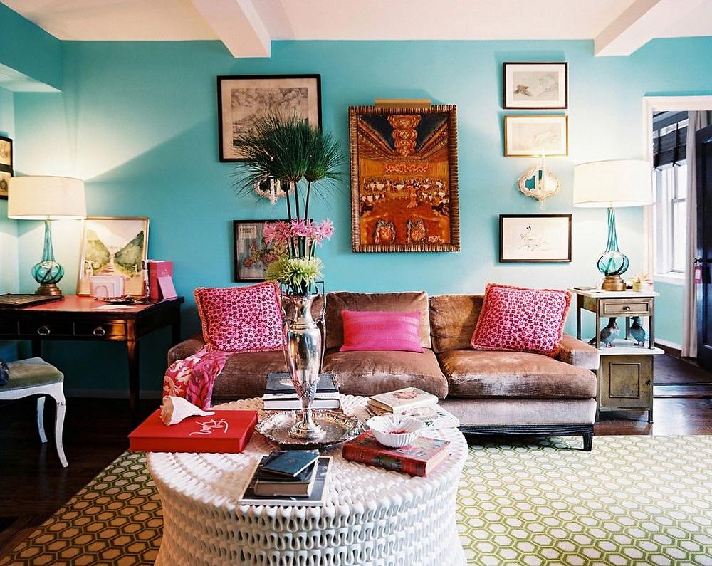 bohemian decor desi style indian living room budget upgrade brixel architecture interior design