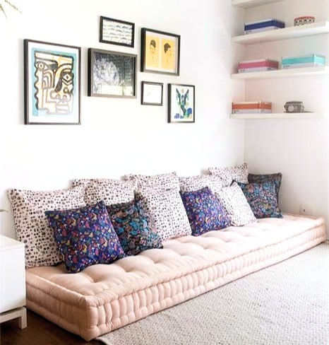 brixel architecture interior branding floor seat conversation nook cozy idea