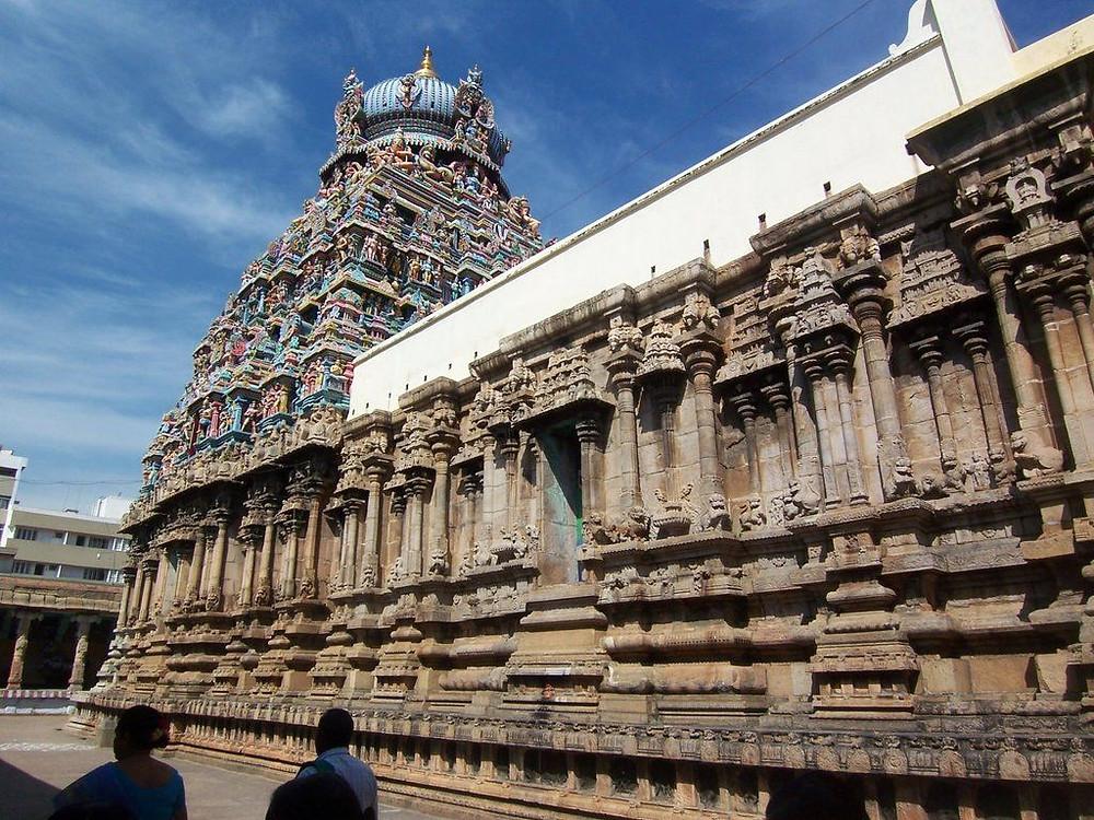 Brixel Architecture Koodal Azhagar Temple Madurai Cultural City Heritage Ancient Dravidian Shilpshastra