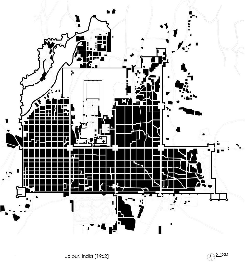 Brixel Jaipur Map City Planning travel architecture