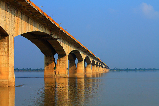 Brixel Architecture Engineering Prestressed Bridge Patna Bihar Mahatma Gandhi Setu Ganga Travel Tourism