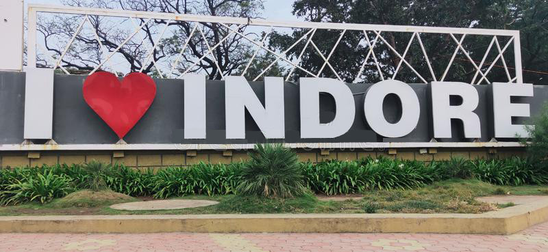 Indore Selfie point love point I love Indore Madhya Pradesh cleanest city 2020