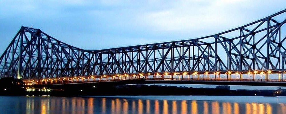 Brixel architecture engineering  Kolkata Howrah West Bengal Steel Cantilever bridge Travel Tourism India