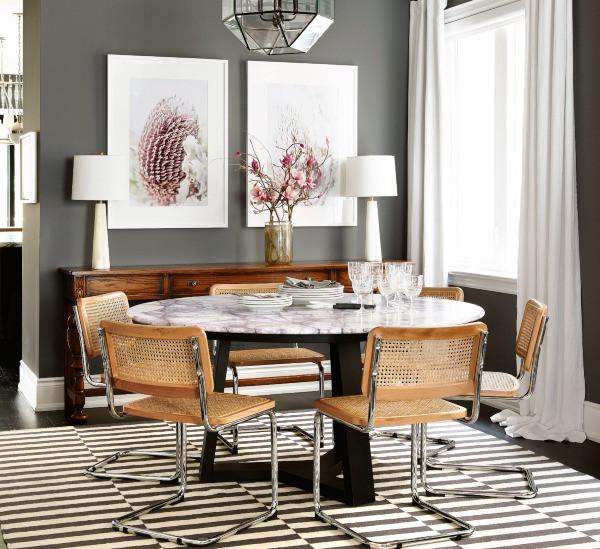 wicker rattan cane interior design trend style architecture branding brixel