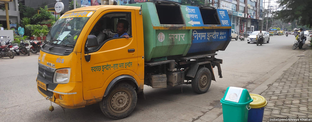 Solid waste management Indore cleanest city wet waste composting Indore Municipal Corporation