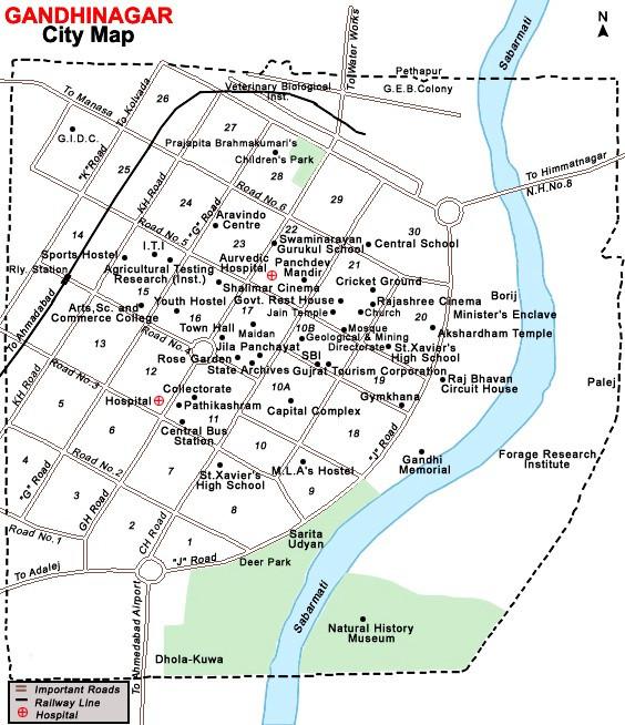 Brixel Architecture Gandhinagar Gujarat City Plan India