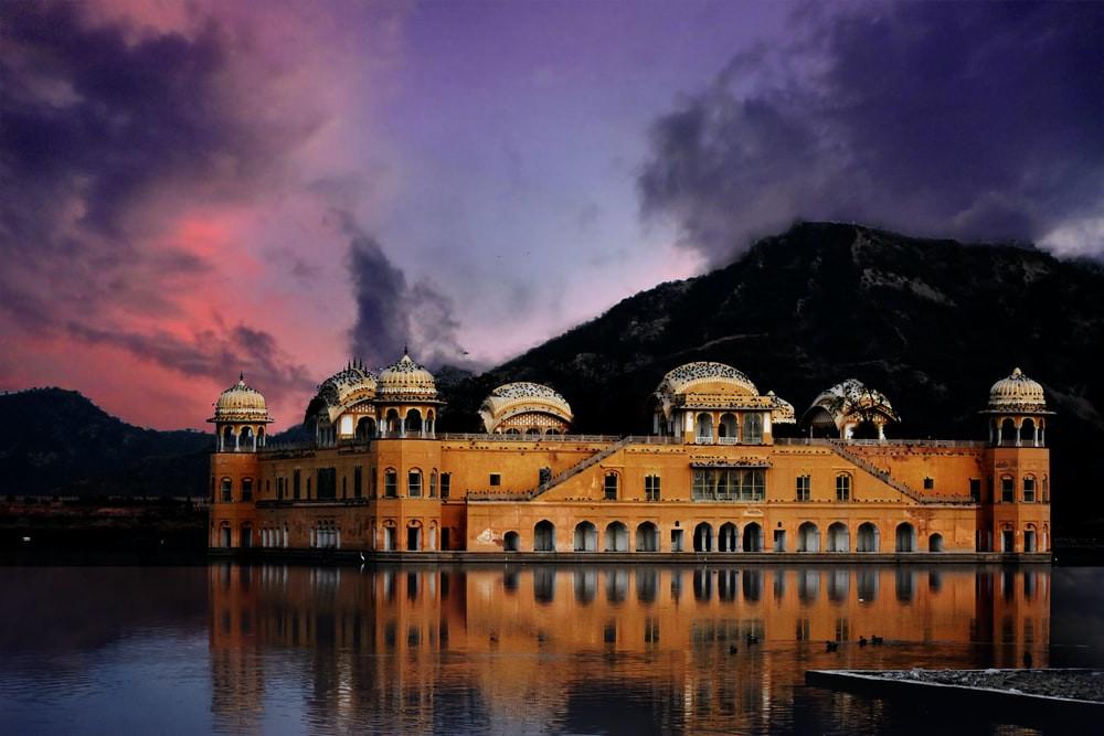 Brixel Architecture Jalmahal Jaipur Lake Palace Heritage India