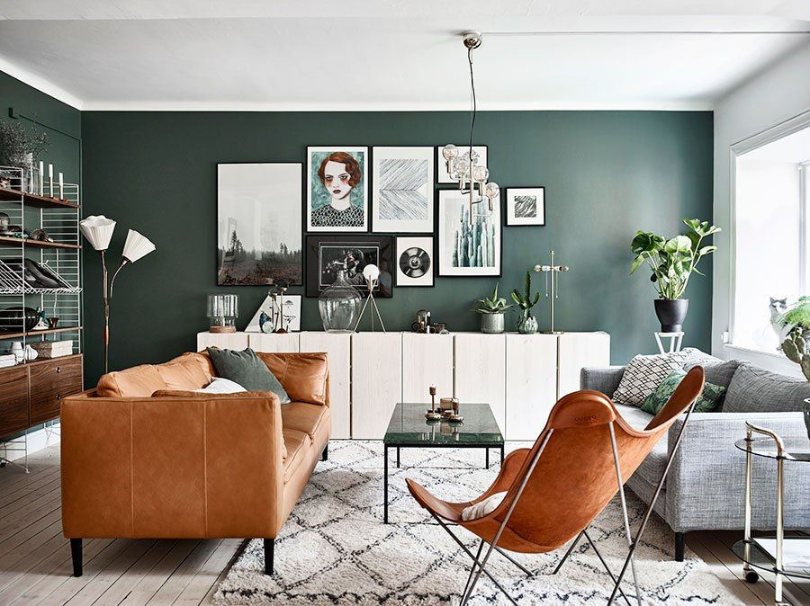 gallery wall accessory living room decor brixel architecture tan and green room