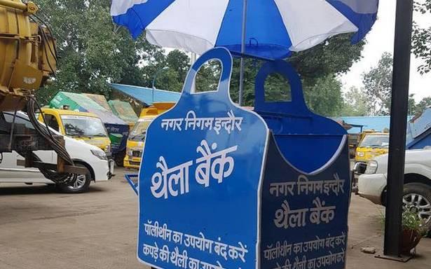 Bag bank Indore India Madhya Pradesh waste reduction