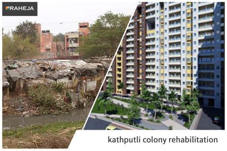 Brixel, rehabilitation, Kathputli colony, success story of redevelopment