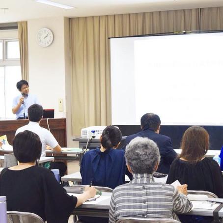 不登校に関する講演会 開催しました。