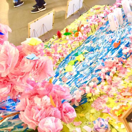 折り紙アート展覧会 開催しました。