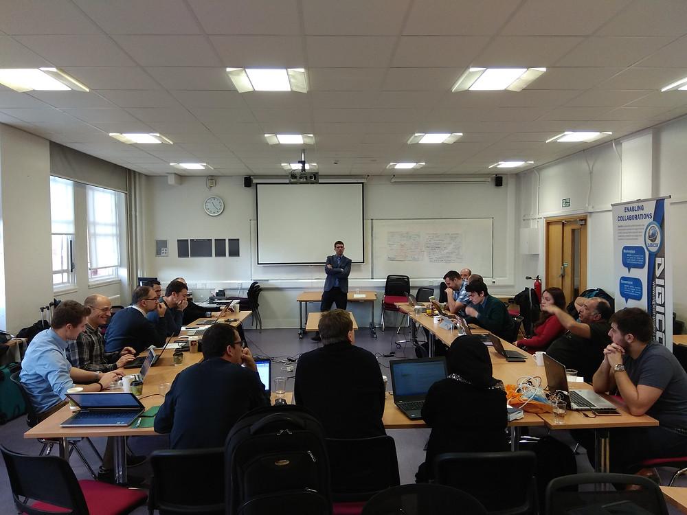 Business Model Workshop in Manchester