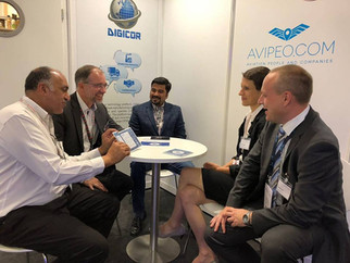 DIGICOR Participation in Farnborough Airshow Highlights the Difference in Agendas