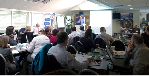Participants at Welsh government and industrial circles attended the DIGICOR event