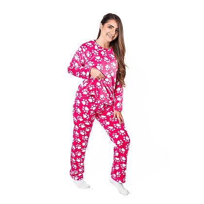 Pijama Jimena Térmica Piel de Conejo