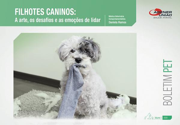 Filhotes Caninos: A arte, os desafios e as emoções de lidar