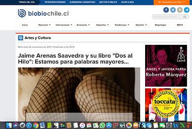 Reseña Radio BioBio Dos al Hilo