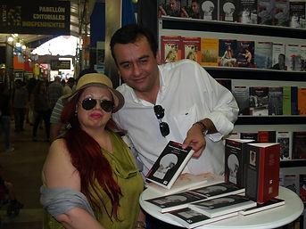 FILSA 2014 - Firma de libros Jaime Arenas Saavedra