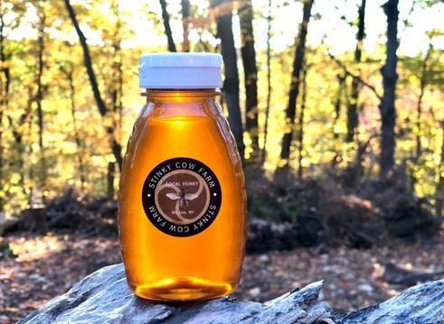 Stinky Cow Farm honey
