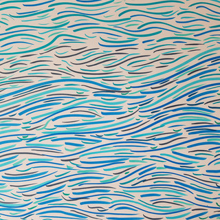 flowing like water